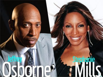 Enjoy an evening of classic soul starring Jeffrey Osborne and Stephanie Mills, September 7th