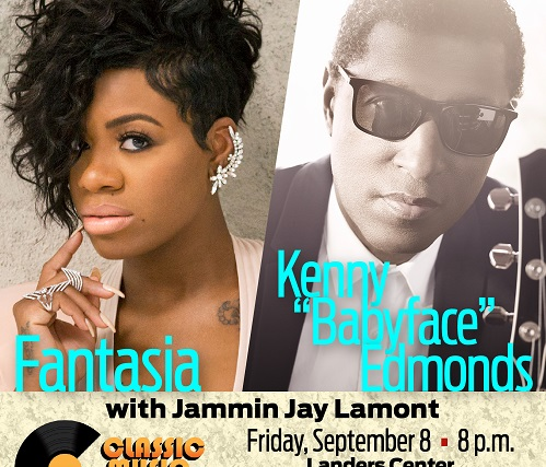 "Classic Music Festival starring Fantasia and Kenny ""Babyface"" Edmonds, September 8th"